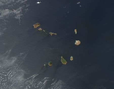 NASA images of Cape Verde